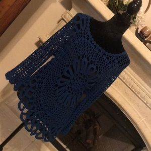 Tempo Paris Crochet Sweater